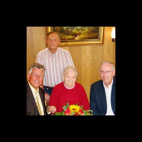Margarete Ottmann at age 104.