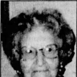 Mary Parr at age 105.
