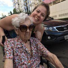 Finotti on her 109th birthday.