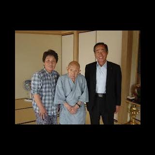 Tomoji Tanabe at age 113.