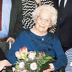 Anna Kupper at 109