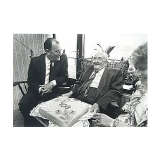 Jan Machiel Reyskens at age 108.