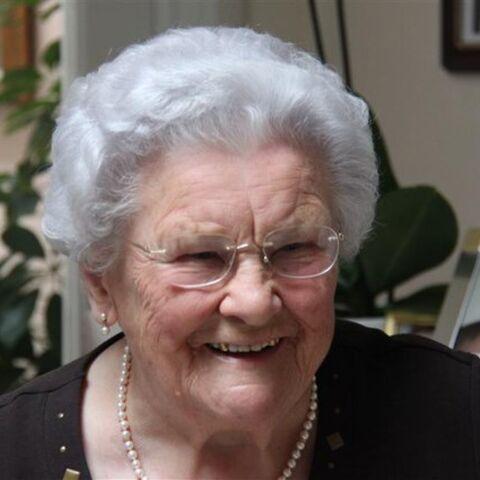 Maria Van Hool at age 101.