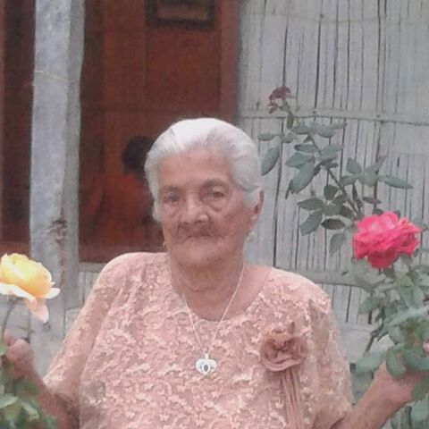 Maria Isabel Cedeno Velez at the age of 106.