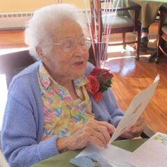 Barbara Barton on 106th birthday