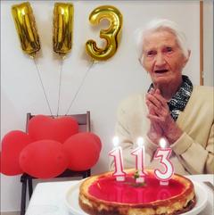 Grandmas bday!