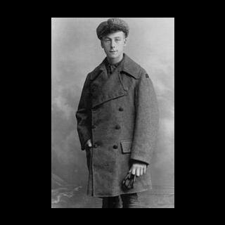 Henry Allingham in RAF uniform, 1916.