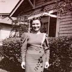 Edie Ceccarelli in 1933 at age 25.