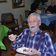 Alexander Imich at his 110th birthday.