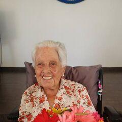 Ana Sara at age 111.