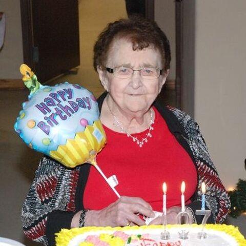 Reita Fennell on her 107th birthday.