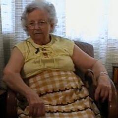 Stella Lennox around her 100th birthday