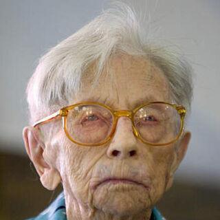 Hendrikje at age 115.