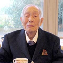 Sakari Momoi at age 109.