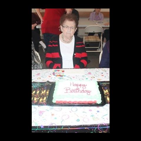 Reita Fennell on her 111th birthday.