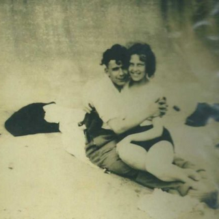 Hilda Clulow with her husband Arthur.