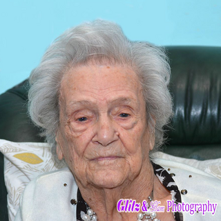 Mackay on her 109th birthday