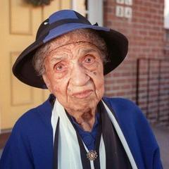 Emma Tillman 4 days before 106th birthday.