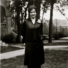 Iris Westman at the age of 23, after graduating from the University of North Dakota.