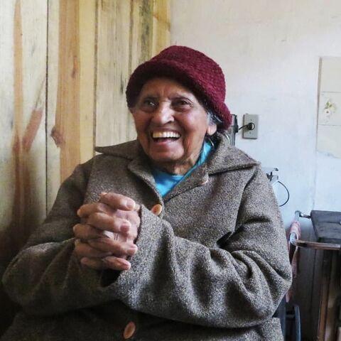 Margarida Blanco at 110.