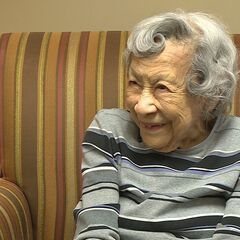 Kabance at the age of 108 in May 2019