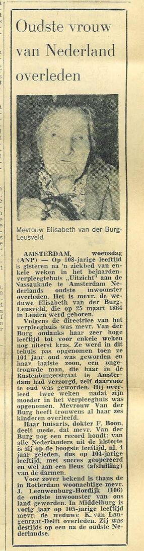 Elisabeth van der Burg-Leusveld