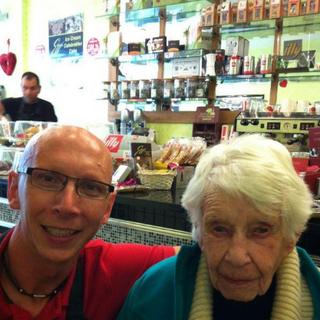 Joan Hocquard at 104.