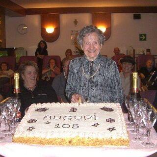 At age 105.