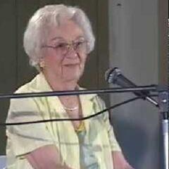 Edie Ceccarelli at age 98.