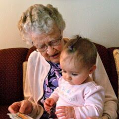 Iris Westman at the age of 107.