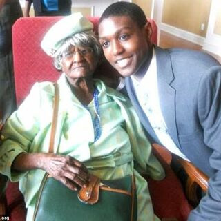 Jeralean Talley at age 112