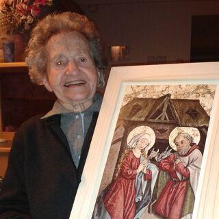 At age 107.