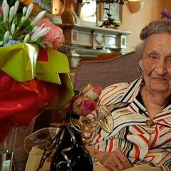 Anne Brasz-Later at age 106