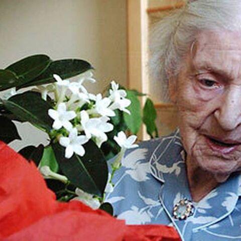Zachrison on her 111th birthday.