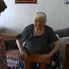 Maria Giuseppa Robucci at the age of 111.