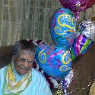 Sarah Spires at 105