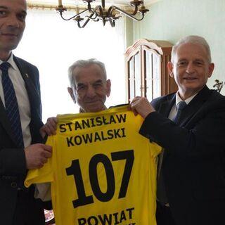 Stanislaw Kowalski at 107