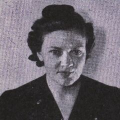 Iris Westman in 1940 at the age of 35.