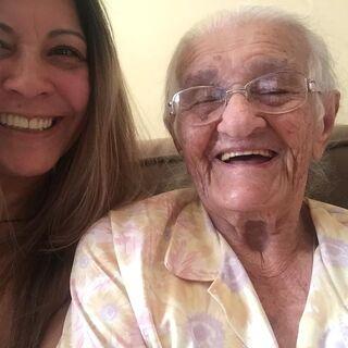 Alice Zuza at 110