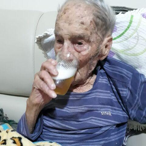 Joao Zanol at the age of 112.