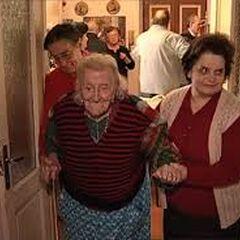 Emma Morano at age 113.