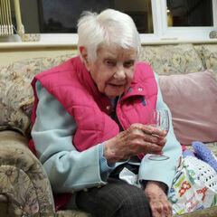 Joan Hocquard at 110.