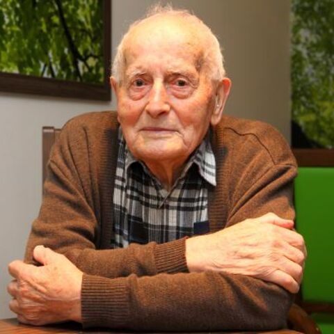 Niko Dragos at the age of 106.