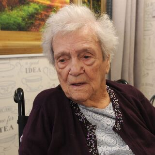 Mackay on her 108th birthday