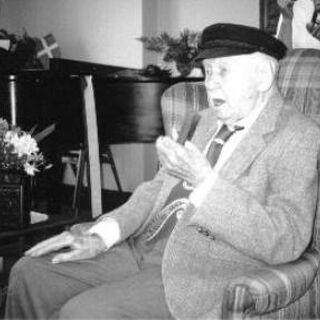 Christian Mortensen at age 113.