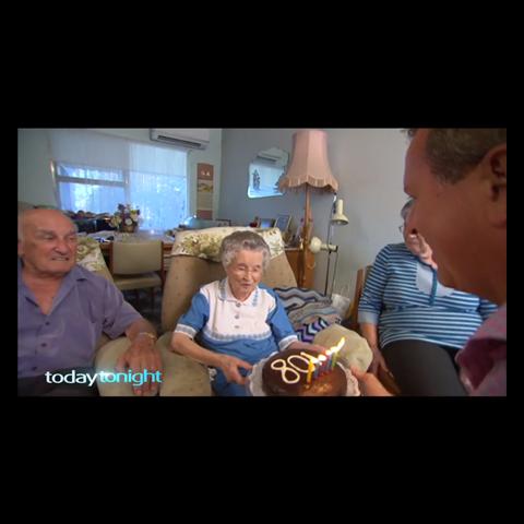 Margaret Vivian at age 108.