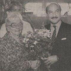 Hendrikje at age 100.