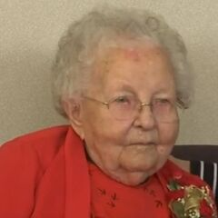 Stella Lennox at the age of 111