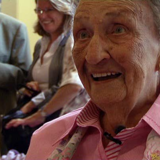 Anna Brasz-Later at age 105