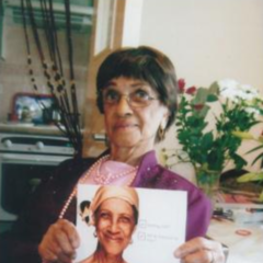 Irene Sinclair at age 96